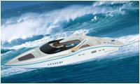 Uzaktan Kumandalı Sürat Teknesi 7004