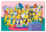 Educa Puzzle Los Simpsons