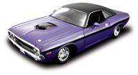 Maisto 1970 Dodge Coupe 1:24