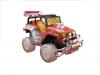4x4 led ışıklı jeep